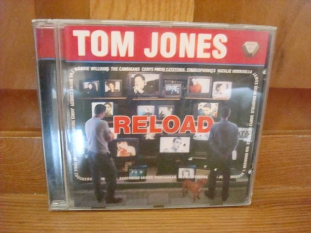 CD Tom Jones - Reload ( CD Novo E Original )