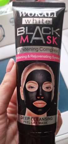 Крем маска чёрная
