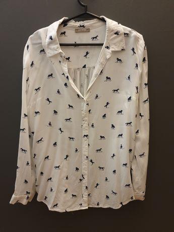 Koszula w konie Orsay