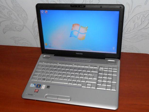 "Игровой Ноутбук Toshiba Satellite L500 - 15,6"" - 2 Ядра - HDD 250Gb"