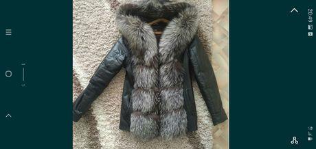 Продам кожаную демисезонную куртку