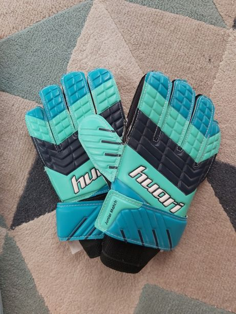 Rękawice bramkarskie piłkarskie huari rozmiar 5 nowe