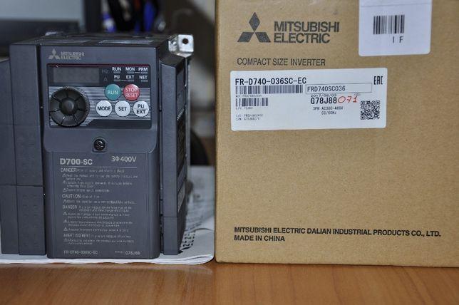 Частотный преобразователь Mitsubishi FR-D740-036SC-EC
