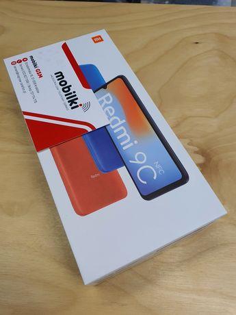 Nowy Xiaomi Redmi 9C NFC 2/32GB Black VAT23% - Gwarancja 24 miesięcy