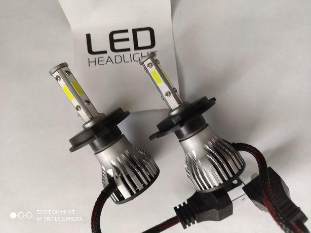 Лампы светодиодные би-лед H-4