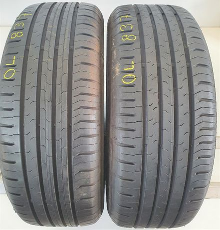 2x 205/60/16 Continental ContiEcoContact 5 92W OL838
