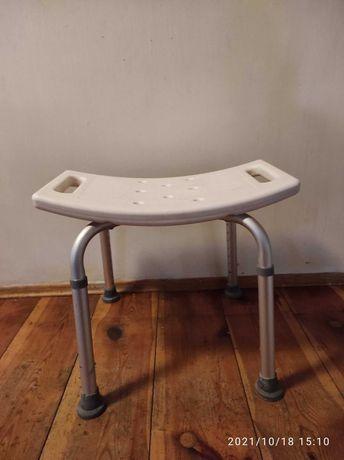 taboret, krzesełko pod prysznic. Regulowane