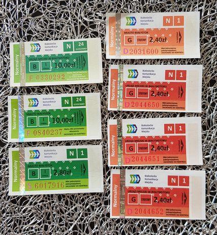Nowe bilety BKM Białystok komunikacja miejska