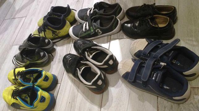 Buty chłopięce puma adidas 7 par=pampersy