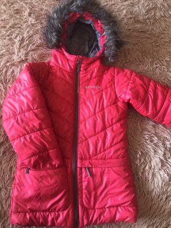 Продажа зимней курточки 7-9 лет