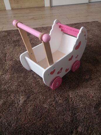Wózek dla lalek- drewniany