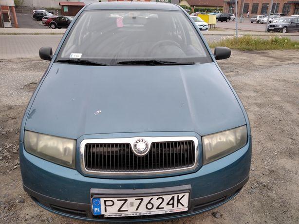 Skoda Fabia 2003r. 1.2 Benzyna