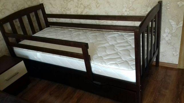 Детская подростковая кровать-кроватка Марсель, купить новую, с дерева