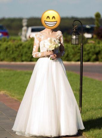 Suknia ślubna wesele ślub pani młoda impreza