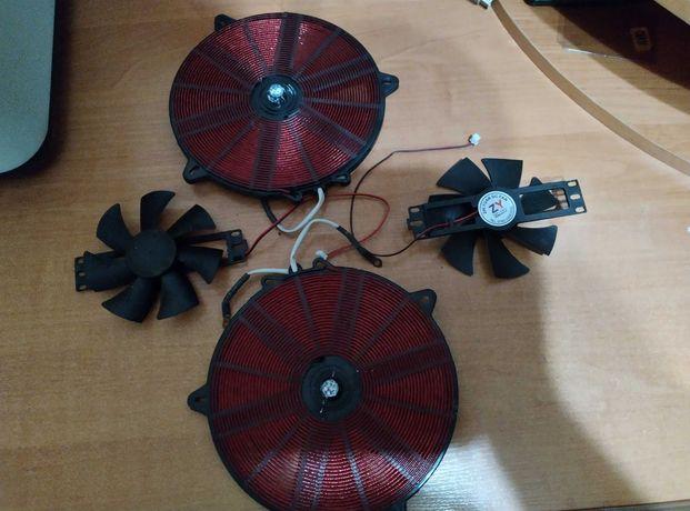 Инфракрасная плита Crownberg CB-1330 двухкомфорочная электрическая
