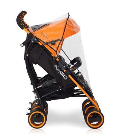 Коляска для двойни Easy Go Duo Comfort Electric Orange