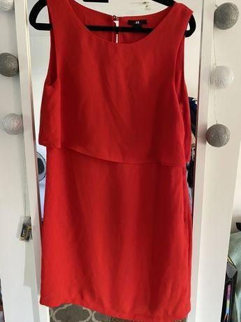 Czwrwona sukienka
