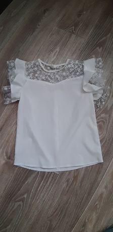 Нежная блуза для школьницы