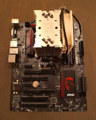 Комплект i7-6700K + MSI Z170A + DDR4 32 GB + Noctua NH-U9B