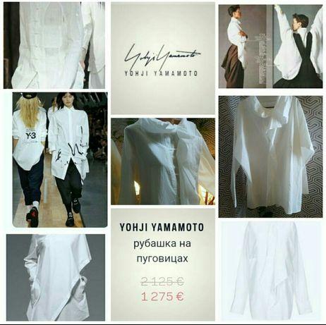 Y'S YOHJI YAMAMOTOлюксовая рубашка японского дизайнера