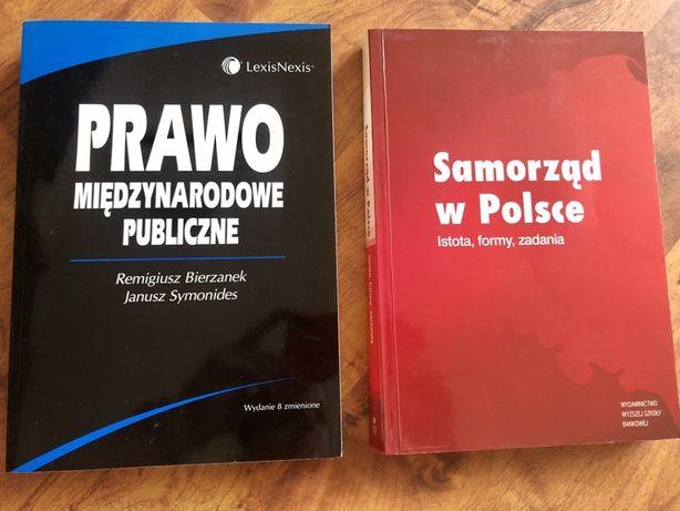 Książki liceum studia Prawo miedzynarodowe Samorzad w Polsce Poznań