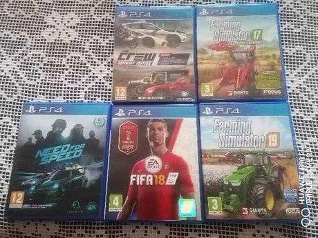 Vendo vários jogos Ps4
