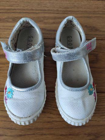Buty, baleriny dla dziewczynki, rozmiar 27