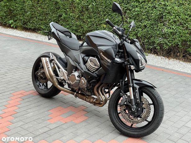 Kawasaki Z 800 ABS! zadbany! wydech IXIL, 2013r. 27051km CRASHPADY, kierunki LED