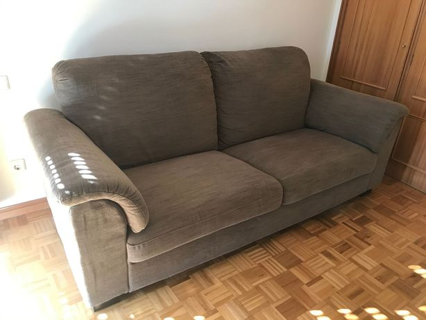 Sofa Castanho IKEA Tidafors - 3 lugares