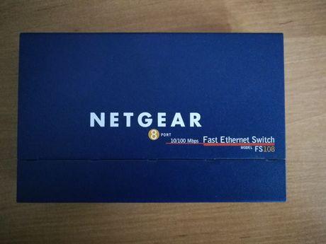 Switch Netgear FS108 ProSafe 8x10/100