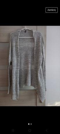 Sweter kardigan narzutka