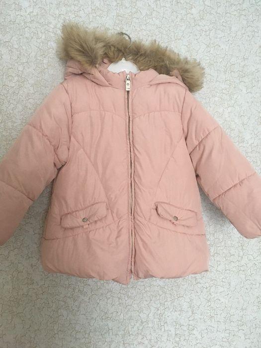 Куртка для девочки Zara Лебедин - изображение 1