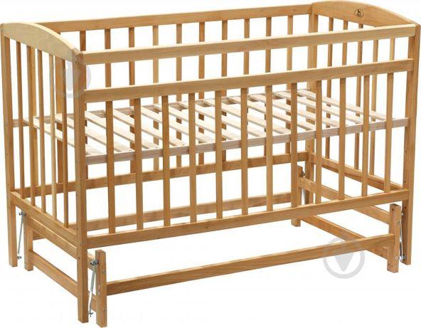 Дитяче ліжечко на шарнірах з кокосовим матрациком