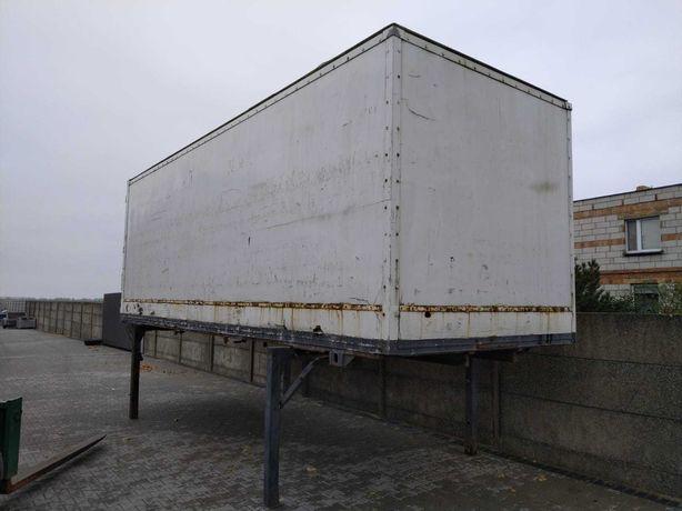 KONTENER ZABUDOWA TYPU BDF 7,1 m magazyn garaż morski socjal