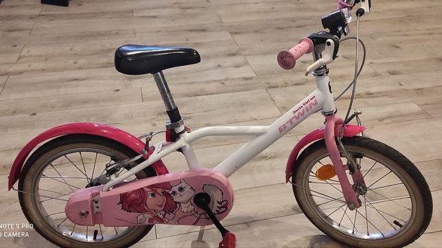 Rower 16 dla dziewczynki