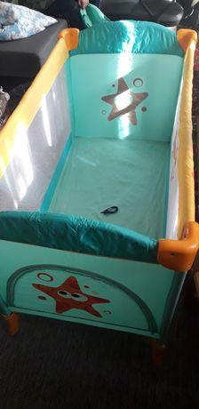 Кроватка манеж 2-рівневий від народження Бертоні