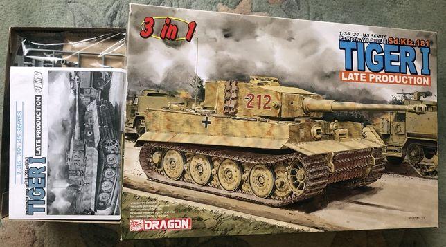 Tiger I - model Dragon, 1:35