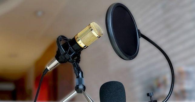 Студийный. Микрофон - усилитель. M-800u | звукозапись | Настольный,