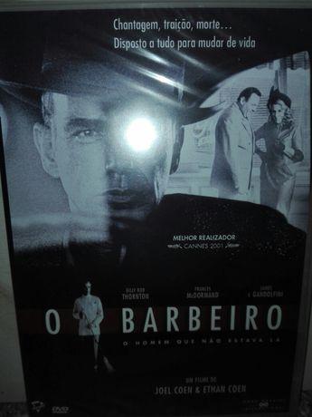 Filme DVD O Barbeiro Ano 2002