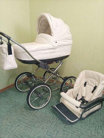 Детская коляска Roan Marita 2в1 КАК НОВАЯ