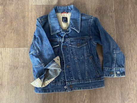 Джинсовая курточка gap 4-5 л. Гэп на мальчика или девочку