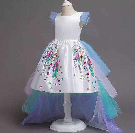 Платье ПОНИ+ обруч, крылья и перчатки