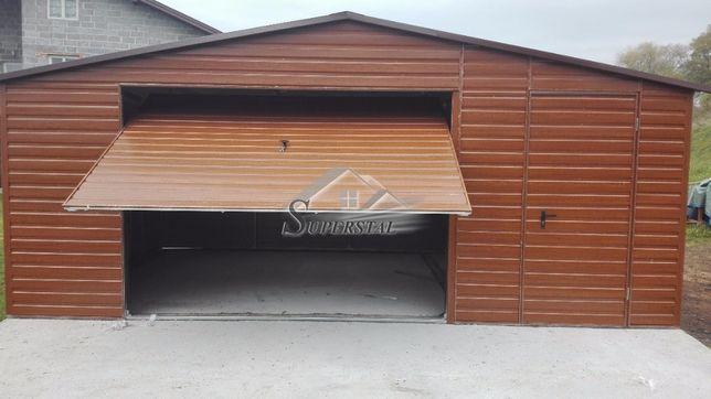 Garaże drewnopodobne, garaże blaszane, magazyny, schowki, Cały Kraj