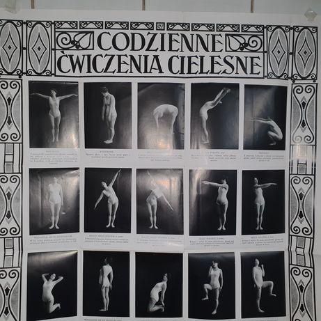 Plakat z 1928 r oryginalny.