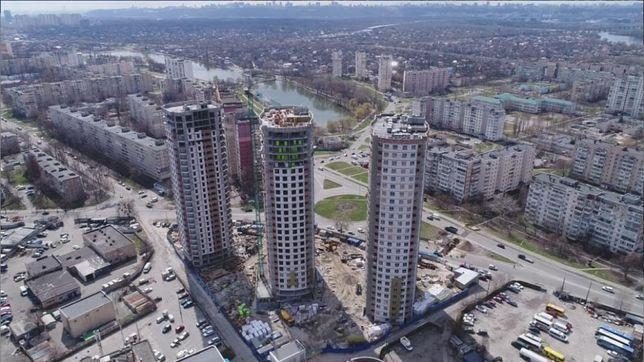 Квартира в ЖК Радужный, 1к - 45.93м2 м.Почайна!
