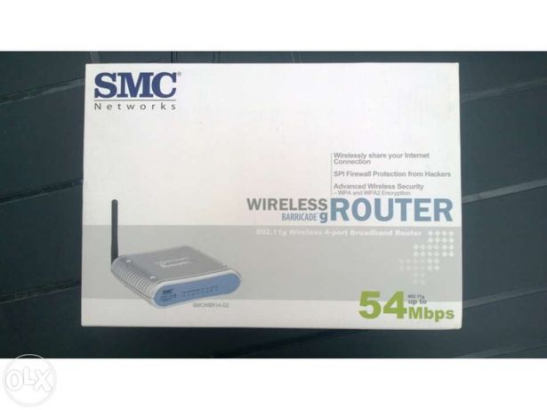 Router Wireless 54Mbps