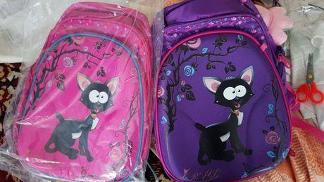 Школьные рюкзаки каркасные для девочки ,с ортопедической спинкой