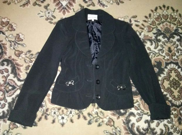 пиджак для девочки на 10-12 лет