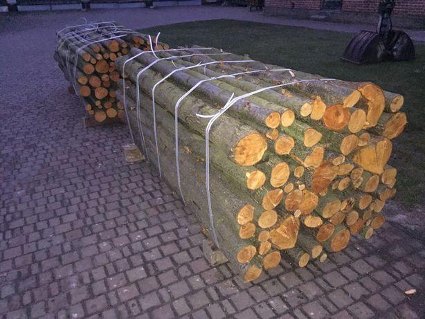 Drewno opałowe, konstrukcyjne sosna, osika, wierzba.