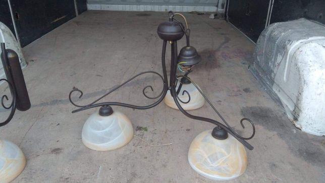 Lampa + kinkiet Dobry stan